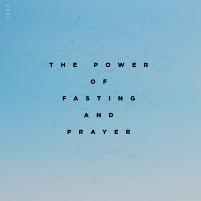 The Power of Fasting and Prayer, teaching with Ev. Jonathan Shuttlesworth of Revival Today
