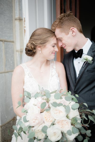 Villanova Wedding Bridal Portraits Marissa Decker Photography