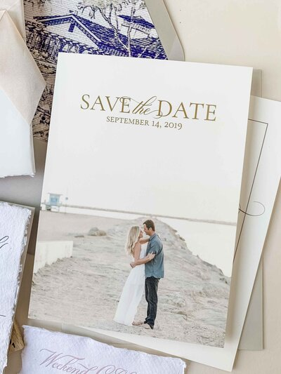 engagement photography as a save the date