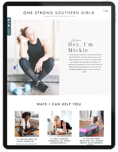 One-Strong-Southern-Girl-Showit-Website-Template