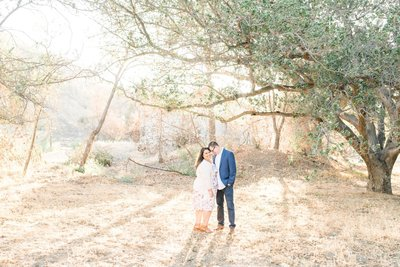Irvine California Spring Engagement Session