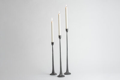Tall Iron Candle Holders Rental