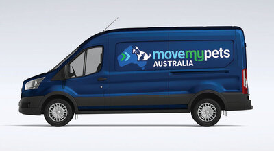 Move My Pets Australia Van by The Brand Advisory
