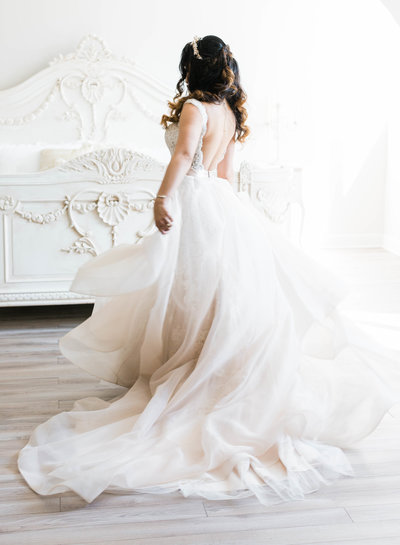 Marie Violet Photography Elegant Bridal Photo