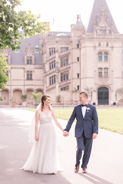 elopement wedding at biltmore estate in asheville nc