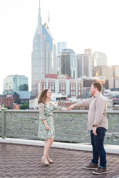 Downtown-Nashville-Pedestrian-Bridge-Engagement-Session-Nashville-Wedding-Photographer+3