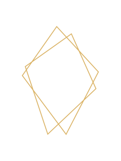 Gold Diamond Shapes