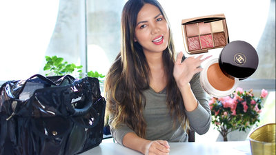 how to pack makeup for travel picture