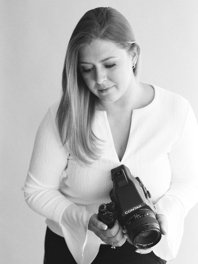 Jacqueline Anne Photography captured in Halifax Studio with Contax 645 camera