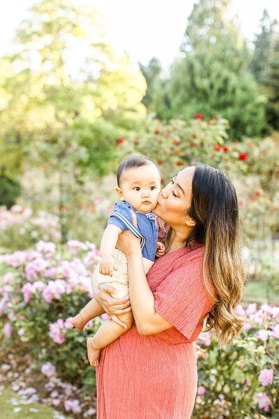 Point Defiance Rose Garden Family Session by Stormy Peterson Photography_0001