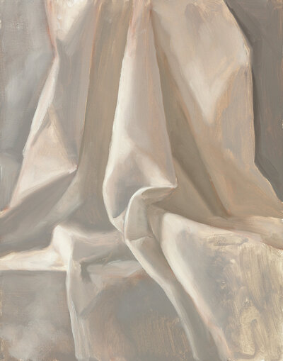 Clair gallery paintings_Drapery Study_