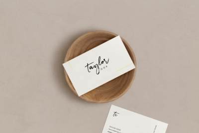 Taylor Cook Business Card
