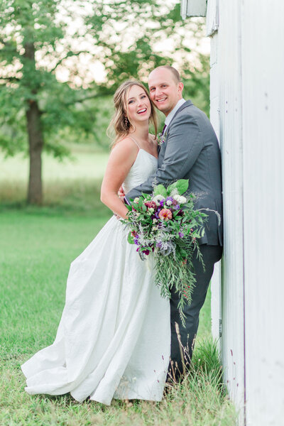 Northern Michigan summer wedding