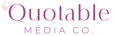 Quotable Media Co. logo