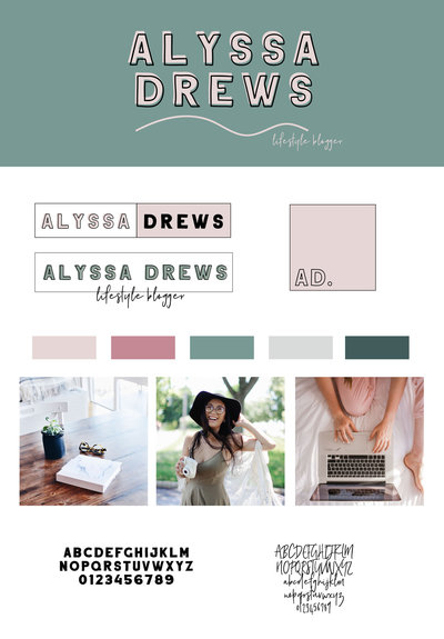 Alyssa Drews Brand Board copy
