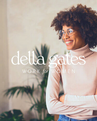 Brand and website development - Della Gates