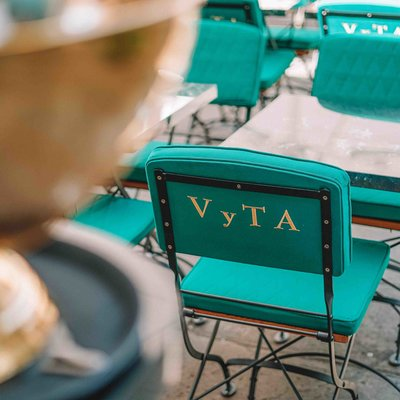 VyTA Covent Garden, Design Furniture, Outdoor Terrace, Covent Garden Brunch