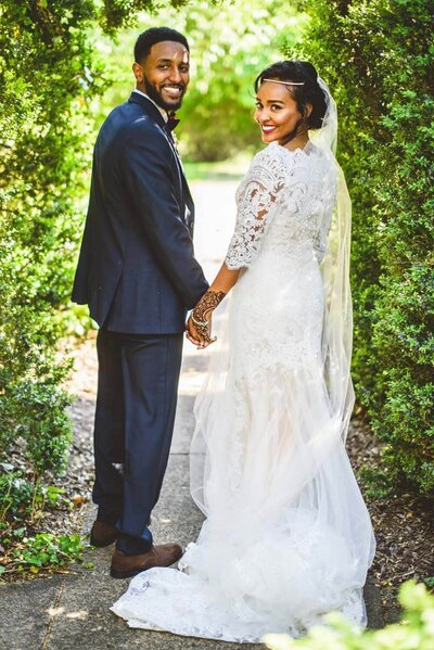Nadine De Leon Designs Sudanese Wedding