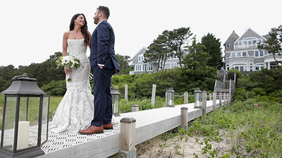 Zach + Amanda Cape Cod Wedding Video-sm