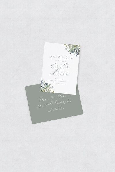 pirouettepaper.com | Wedding Stationery, Signage and Invitations | Pirouette Paper Company | Semi Custom Invitations | The Meadow 12