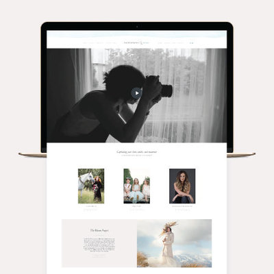 Custom Web Design for Photographer