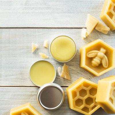 bee beauty course beeswax salve
