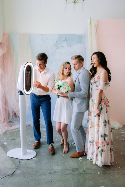 modern photobooth