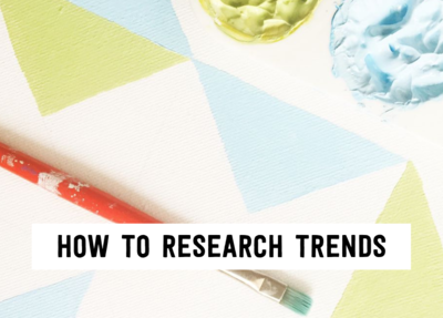 How to research trends (1)