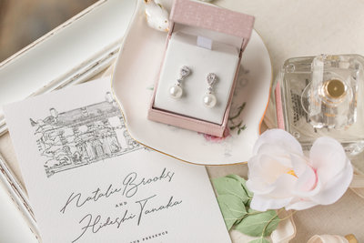 Michigan Estate wedding details