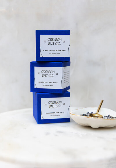 Orenson Salt Co Packaging Set