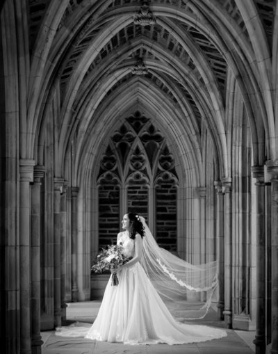 Duke University Chapel wedding in Durham, NC