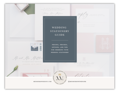 Wedding Stationery Color Options
