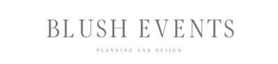The Blush Events Logo 2
