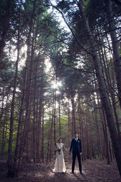 Whimsical wedding at The Webb Barn in Wethersfield