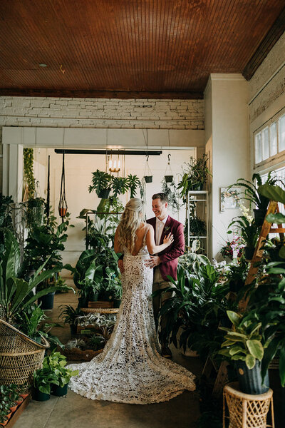Elopement Wedding at Fancy Free Nursery in Tampa Bay Florida