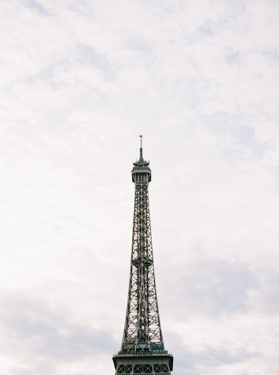 Eiffel Tower while Traveling in Paris