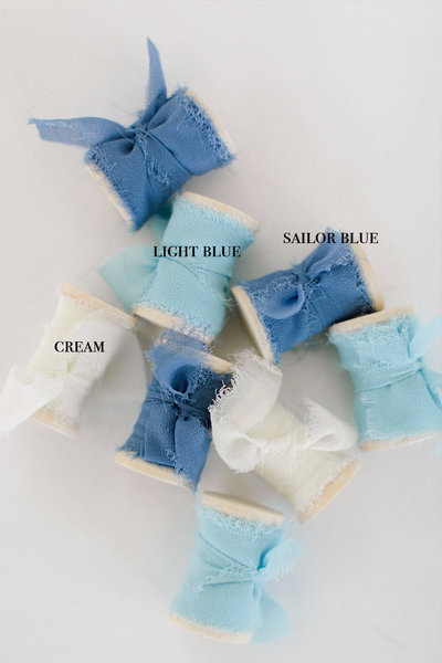 Blues Ribbon Color Chart