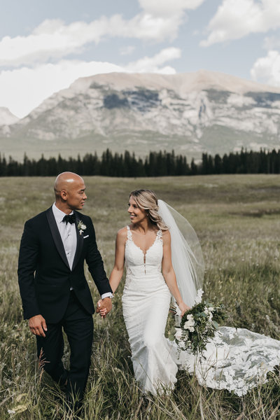 Mountain Wedding at Canmore Golf and Curling Club