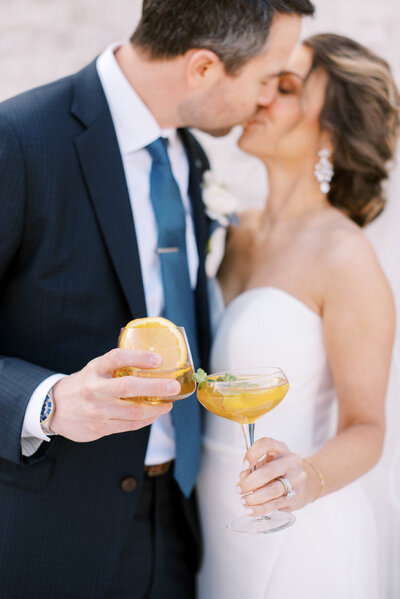whiskey cocktails his and hers for weddings