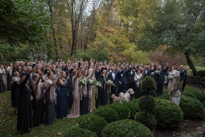 Fall Same Sex Lord Thompson Manor Wedding in Thompson, CT