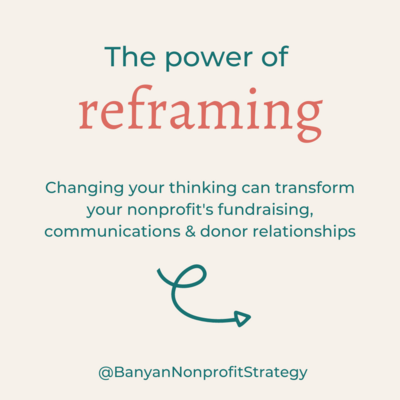 Banyan Nonprofit Strategy Reframing