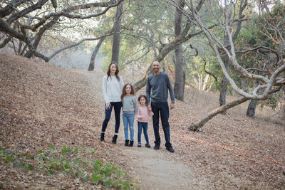 Napa Wine Country Family Photoshoot