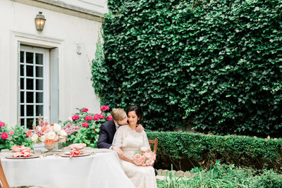 Timeless Paris wedding photographed by Alicia Yarrish Photography