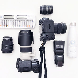 Wedding Photographer Camera Gear