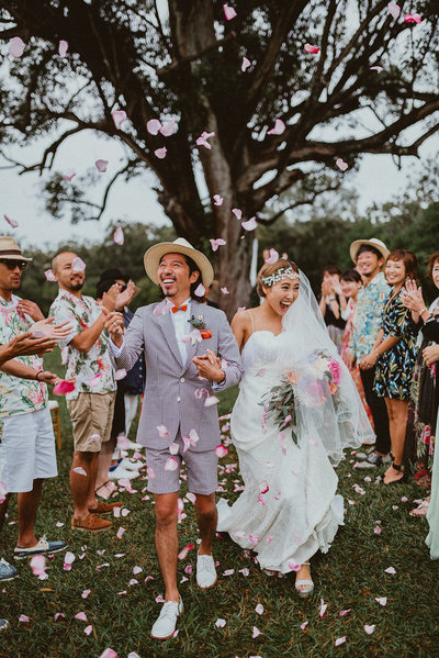 Sunset-Ranch-Hawaii-Japanese-Wedding-Recessional-Olowalu-Plantation-House-Wedding-Maui-Elopement-Chelsea-Abril-Photography-Hawaii-Photographer