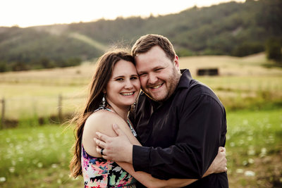 happy couple in Roseburg, Oregon