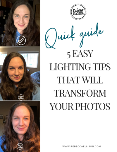 5 easy lighting tips