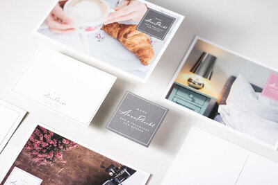 Brand Collateral for Hotel in Austria with a friendly and modern vibe.