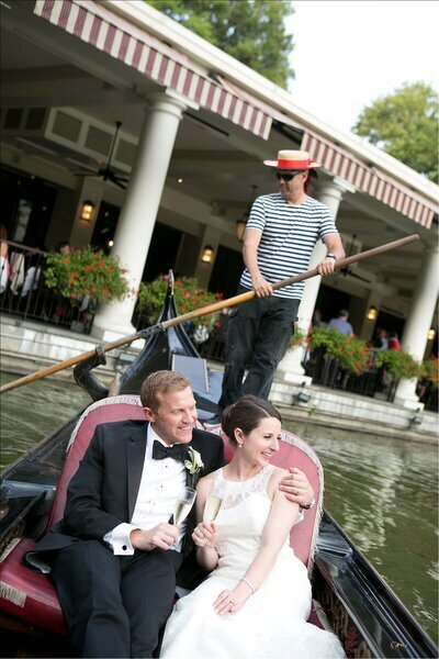 New York Wedding Photographer at Central Park Boat House.