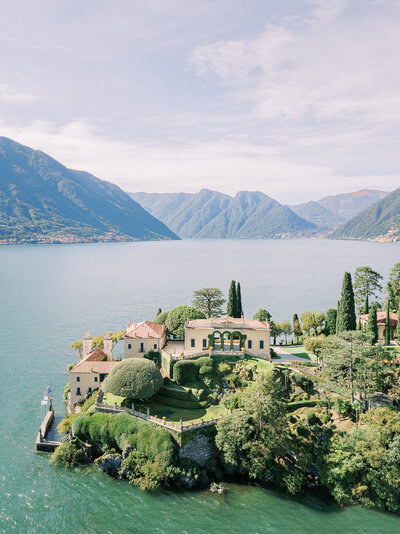 Villa Balbianello Lake Como best wedding venues